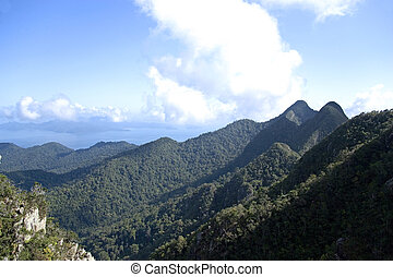 Langkawi Island Mountain Range - The Langkawi Island...