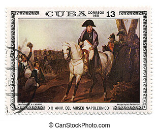 Postage stamp. - CUBA - CIRCA 1981: A stamp printed in CUBA...