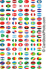 Flags ofl countries - Flags of countries