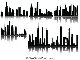 skyscraper background