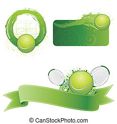 tennis sport design element