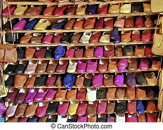 Colorful Shoes For Sale In Marrakech - Colorful shoes for...