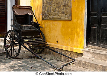Traditional mode of transportation, Hoi An, Vietnam - In...