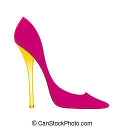 womanish sexy shoes - beautiful womanish sexy shoes on a...