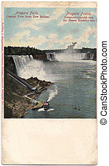 Niagara - Old postcard from Niagara Falls