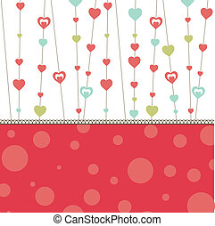Valentine's heart. vector illustration - Valentine's...
