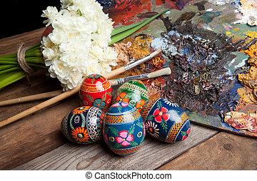 huevos, Pascua, Rusia