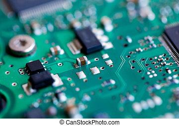 Green circuit board macro