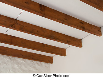 Roof Beams - Photo of interior cottage roof beams