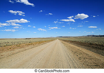 lonely dirt road