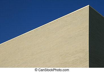 gray brick building