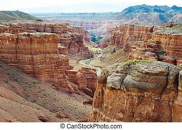Canyon of Charyn in Kazakhstan - Canyon of Charyn in...