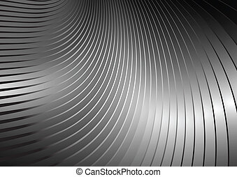 Curved vector lines