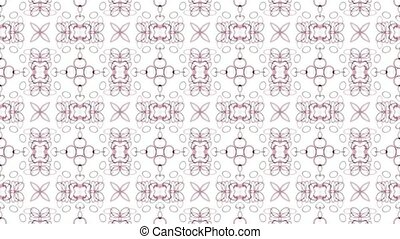 east retro flower pattern,material
