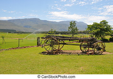 Old Wagon - Old wagon in South Africa