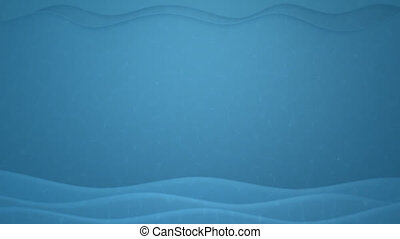 Underwater background - Loopable 3D animation of stylized...