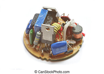 Elecronic components - Circuit board with complex electronic...