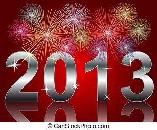 nouveau, année, 2013