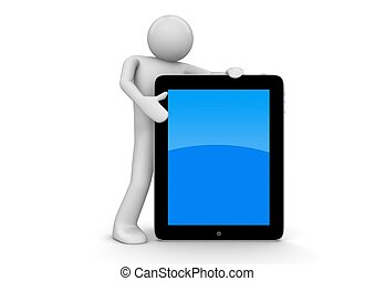 Touchpad owner - Big touchpad and little character. One of a...
