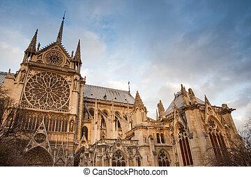 Notre Dame Cathedral - Notre Dame de Paris Cathedral