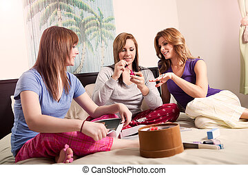 Mother daughters - A shot of a mother spending time with her...