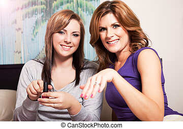 Mother daughter - A shot of a mother spending time with her...