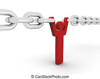 Chain concept  - Chain concept