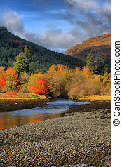Autumn on Loch Long - Arrochar on loch long