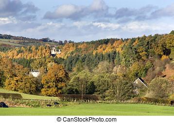 West Lothian, Scotland, autumn 2 - West Lothian, Scotland,...