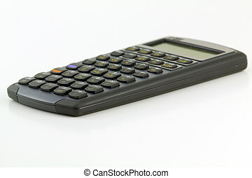 Close up of mortgage calculator
