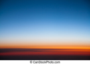 Sunrise Colors Gradation