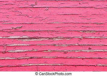 textura, viejo, pintado, madera