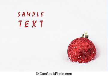 hristmas background with space for text