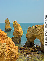 Coastline of Algarve, Portugal