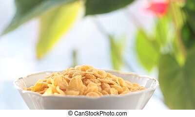 Cornflakes with milk