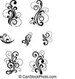 floral, padrões