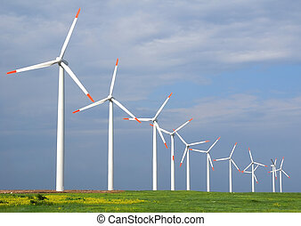 viento, turbinas