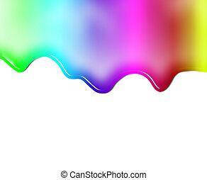 Liquid colored