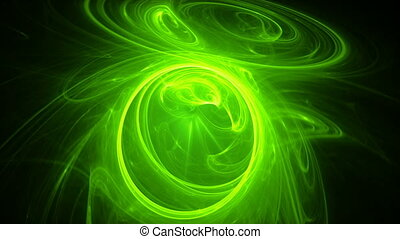 green rings seamless looping bg - green rings seamless...