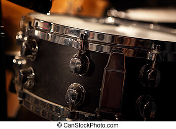 drum`s snare - close up image of drum`s snare