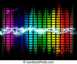 Background of music