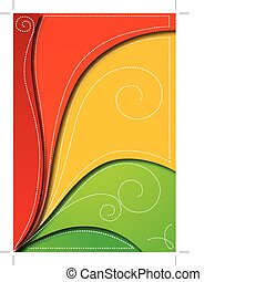 Abstract background for design. Vector