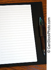 Journal Page - Lined journal or diary page, blank and ready...