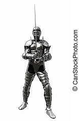 Knight in Medieval Armour - 2