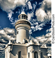 Byron Bay Lighthouse, Australia - Byron Bay Lighthouse in...