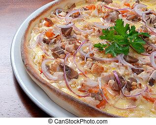 Fast food Pizza.