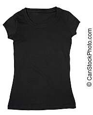 t shirt clothing template dress wear - close up of a blank...