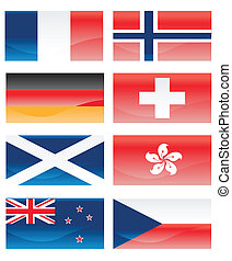 Flags ofl countries