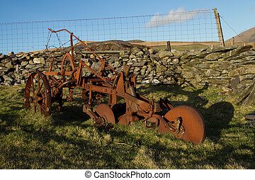 Old plough.
