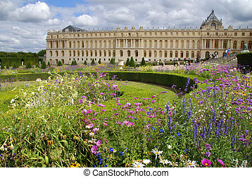 Versailles - Famous palace Versailles near Paris, France...